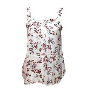 Maurice's Floral Print Blouse Tank Top